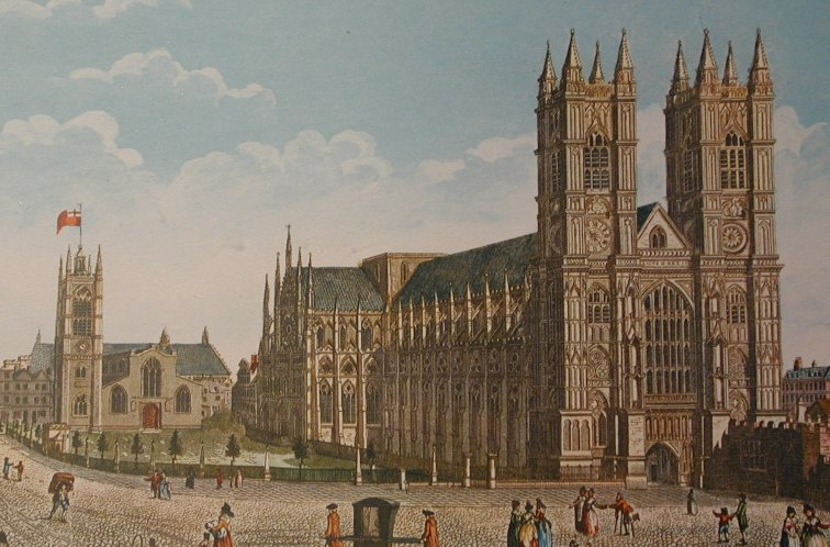 Westminster Abbey, link between the old and the new EBC